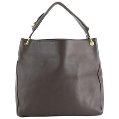 Tom Ford Zipper Strap Hobo Leather