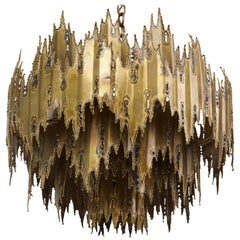 Tom Greene for Feldman Lighting Company Brutalist Chandelier