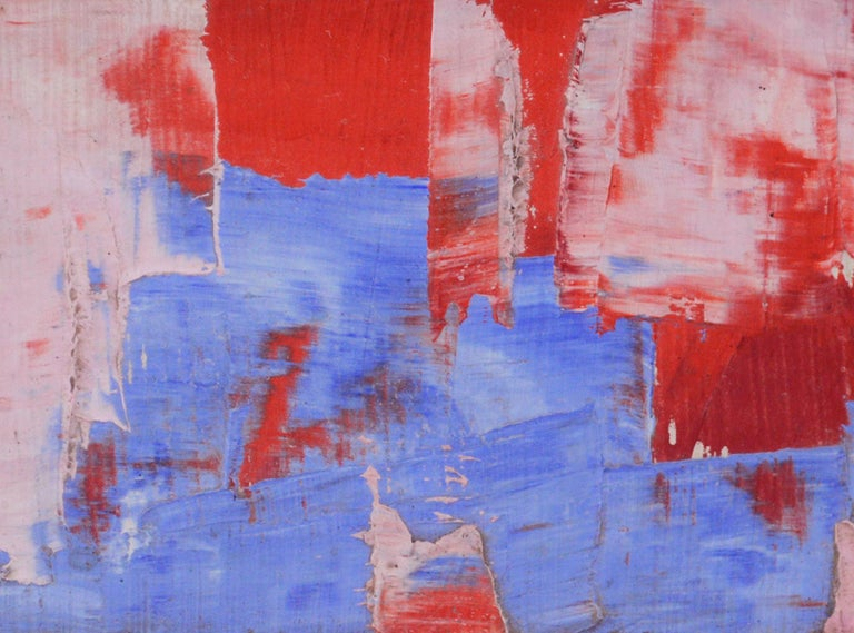 Out of the Blue Abstract  - Abstract Expressionist Painting by Tom Hamil