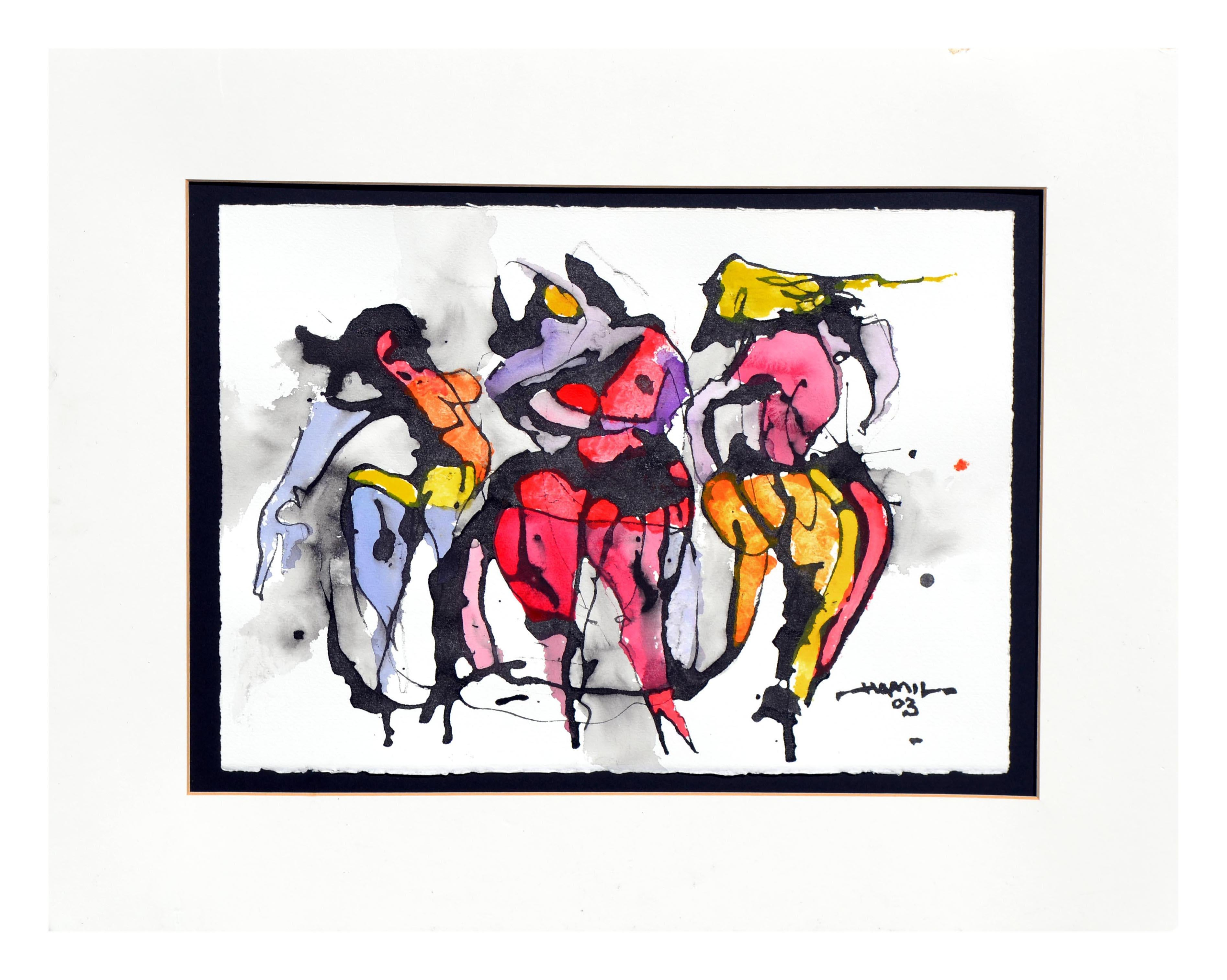 Three Dancers Figurative