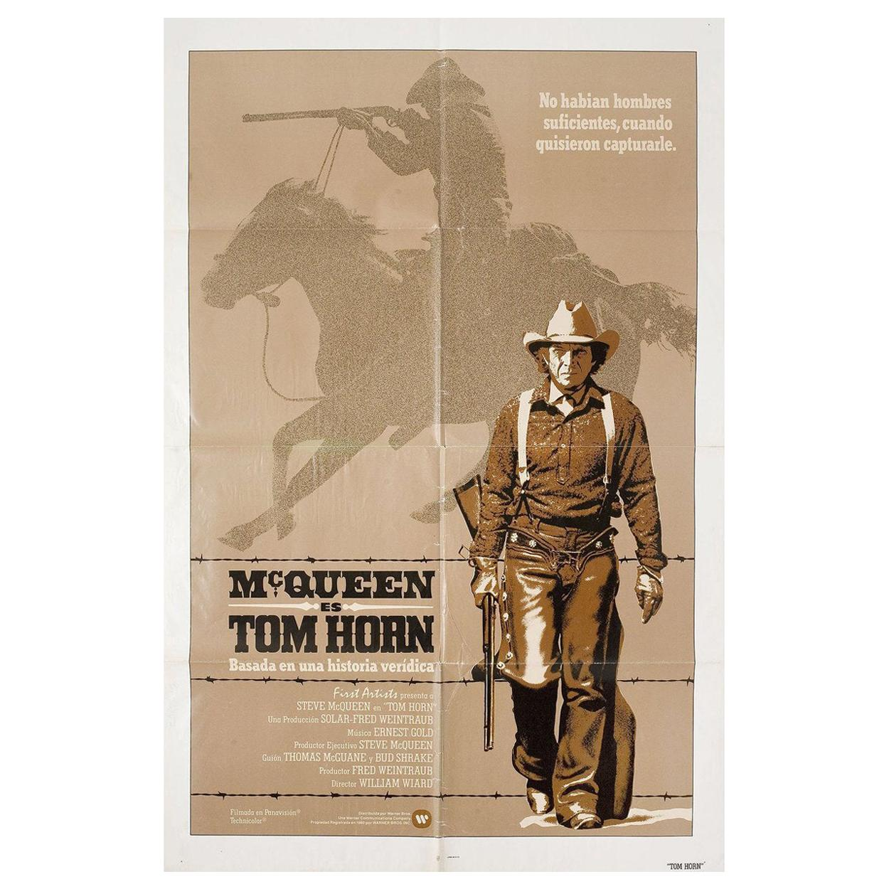 Tom Horn 1980 U.S. One Sheet Film Poster