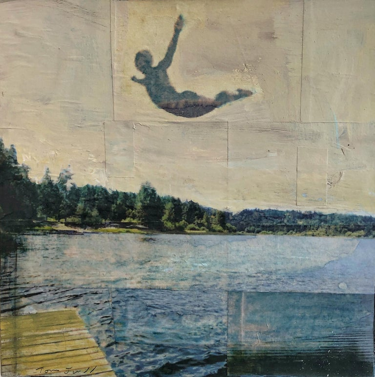 Tom Judd Figurative Painting - On the Lake