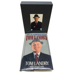 Tom Landry An Autobiography, Signed and Inscribed by Tom Landry, 1st Ed., 1990