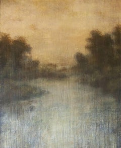 """Tom Leaver Landscape Painting """"Differences in Contrast"""""""