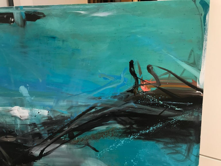 Longline - Abstract Painting by Tom Lieber