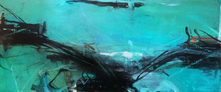 Tom Lieber Landscape Painting - Longline