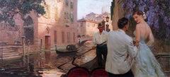 Gondola In Venice, 1947