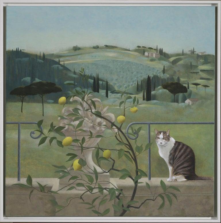 Tom Mabon Landscape Painting - Florentine Gardens