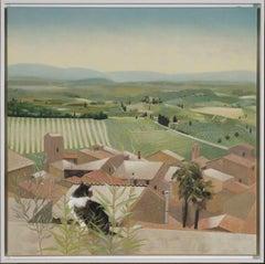 Landscape below San Gimignano