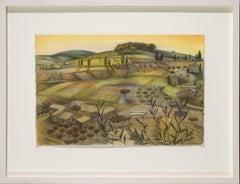 Patterned Fields. Provence