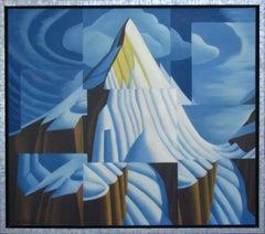 LAWREN'S MOUNTAIN, Painting, Acrylic on Canvas