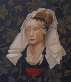 ROGIER'S LADY, Painting, Acrylic on Canvas