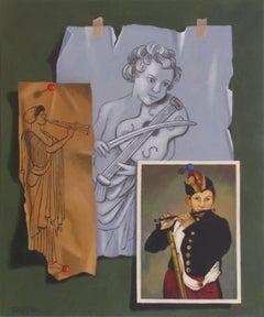 Trio, Painting, Acrylic on Canvas