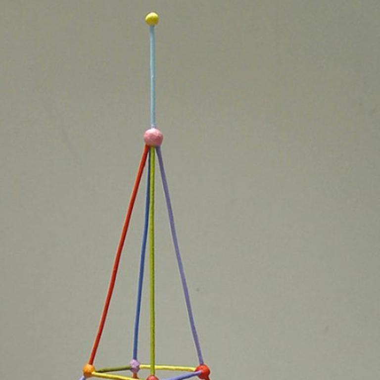 Tower - Sculpture by Tom Nussbaum