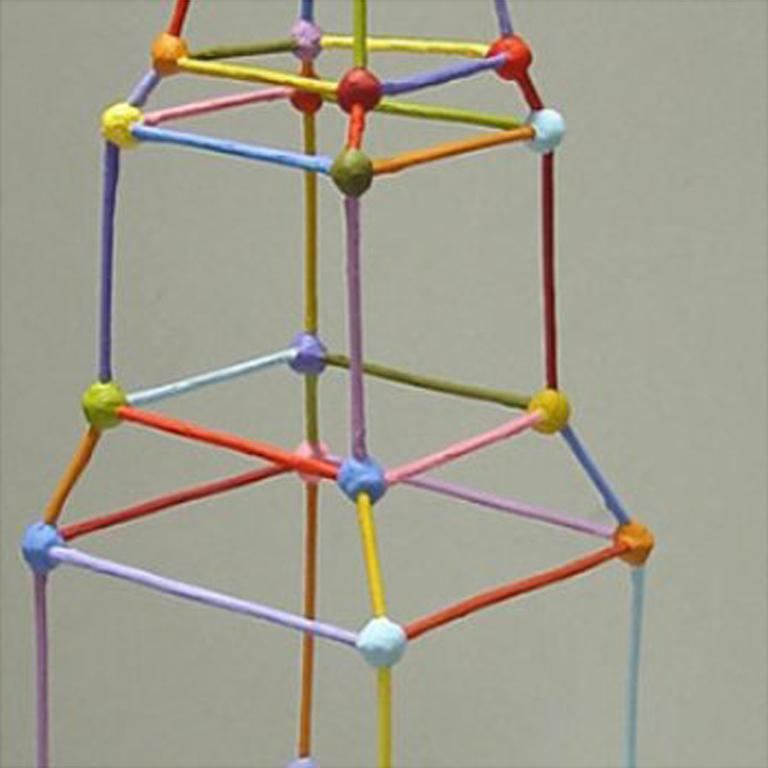 Tower - Abstract Sculpture by Tom Nussbaum