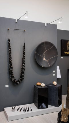Lei for Bertoia by Tom Palmer (140cm high wall mounted necklace sculpture)