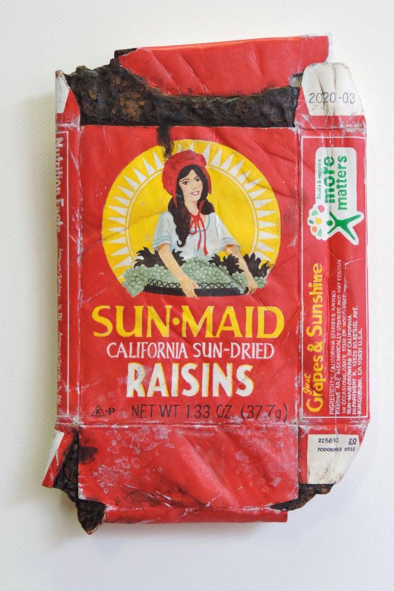 Sun Maid Raisins (2x) - Sculpture by Tom Pfannerstill