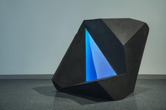 Carbon Void Blue by Tom Price - Abstract Geometric Sculpture