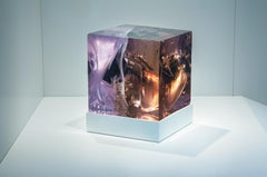 Synthesis 3 by Tom Price - Abstract LED light sculpture