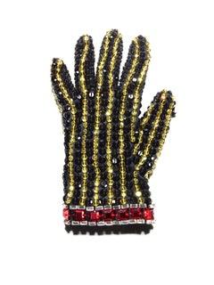 "Black Glove ( Michael Jackson ) 64 x 48"""