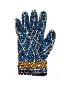 "Blue Glove ( Michael Jackson ) 64 x 48"""
