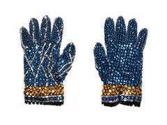 "Blue Glove (Michael Jackson) 48 x 64"""