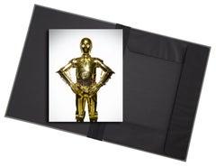 Star Wars (C-3PO) - photograph in classic archival artwork portfolio gift binder
