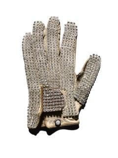 White Glove (Michael Jackson) photograph in archival artwork portfolio binder