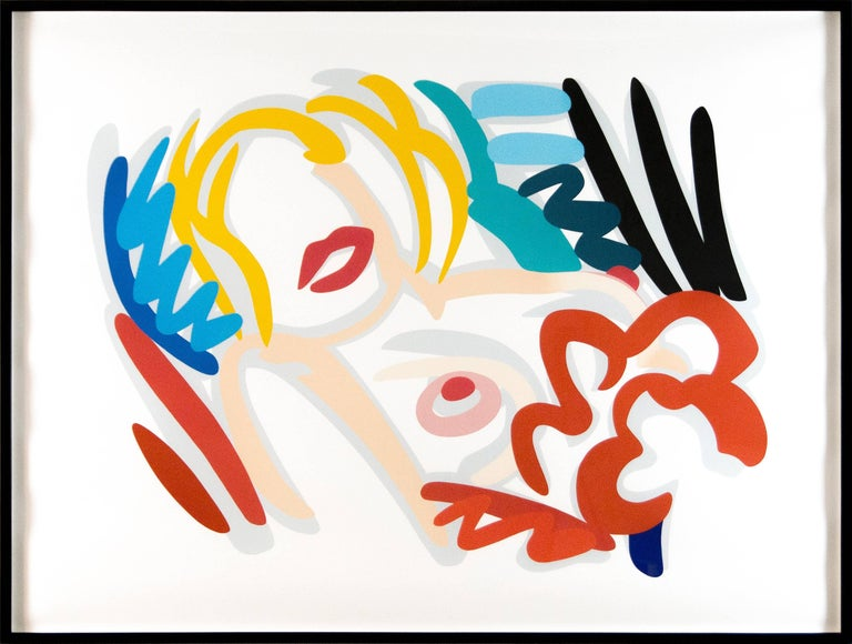 Big Blonde - Print by Tom Wesselmann