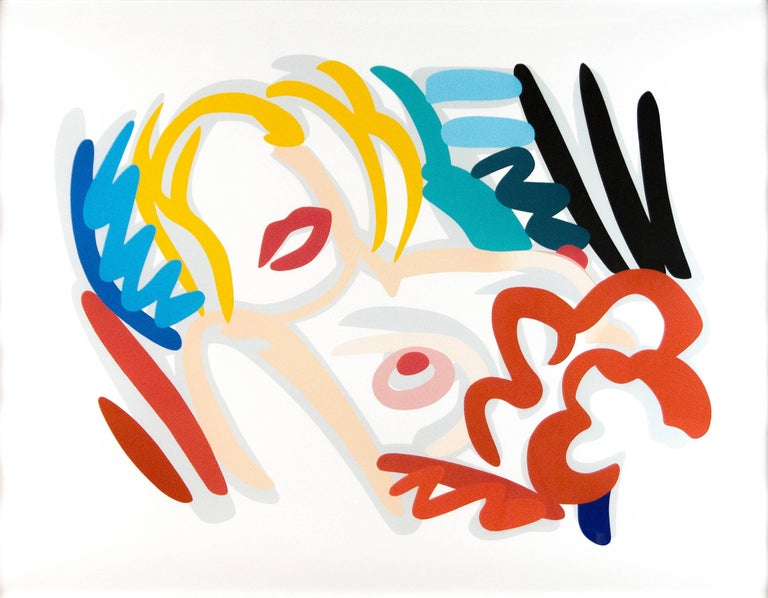 Tom Wesselmann Nude Print - Big Blonde