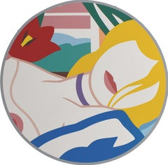 Blonde Vivienne  Screnprint, American Pop Art