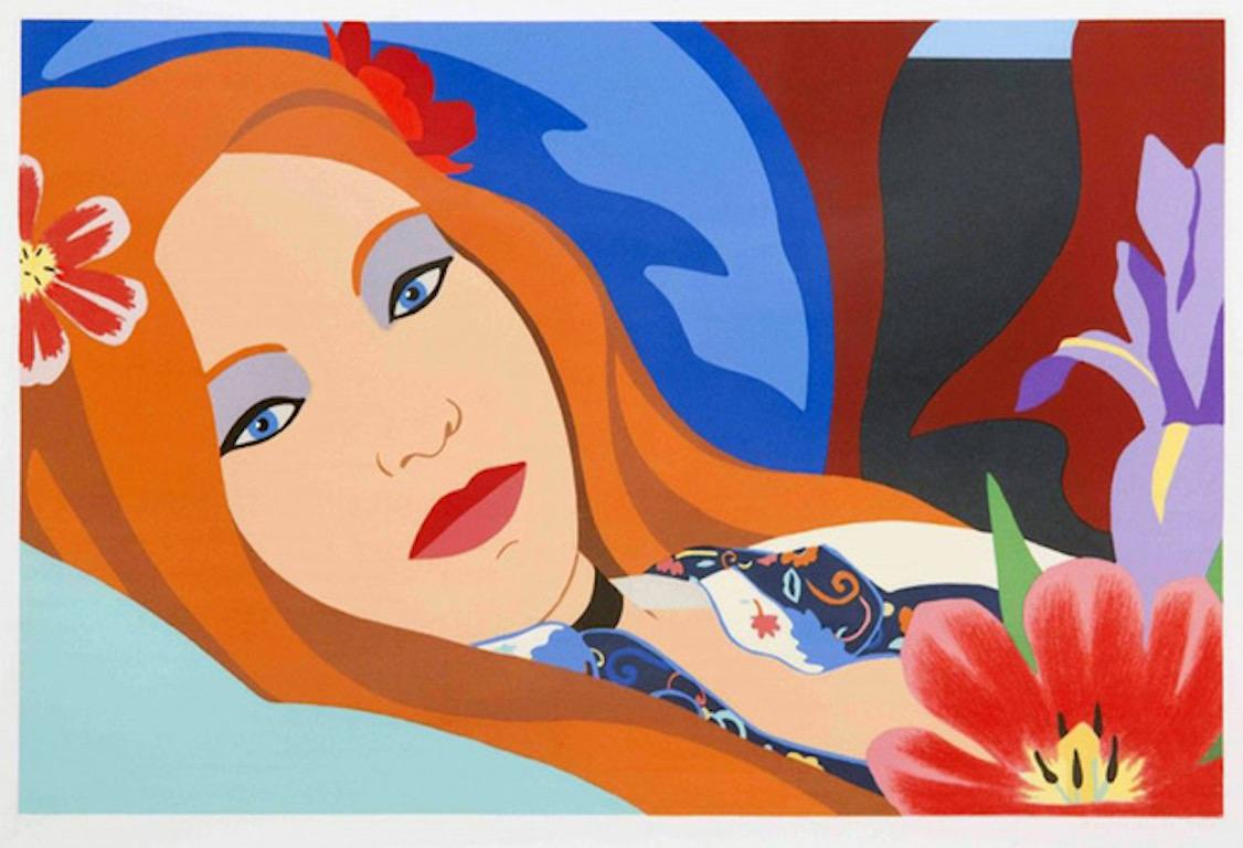Lulu, 1982, Lithograph on wove paper, 24 3/4 × 33 in, Edition of 250