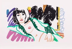 Monica in Robe with Motherwell, Tom Wesselmann
