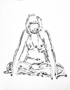 MONICA SITTING CROSS-LEGGED