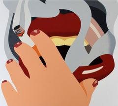 Smoker, from: An American Portrait - American Pop Art, Post War, Woman Figure
