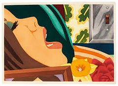 Tom Wesselmann Bedroom Face Limited Signed Print Stamped COA Included