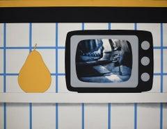 TV Still Life, from: 11 Pop Artists -  American Pop Art TV Post War