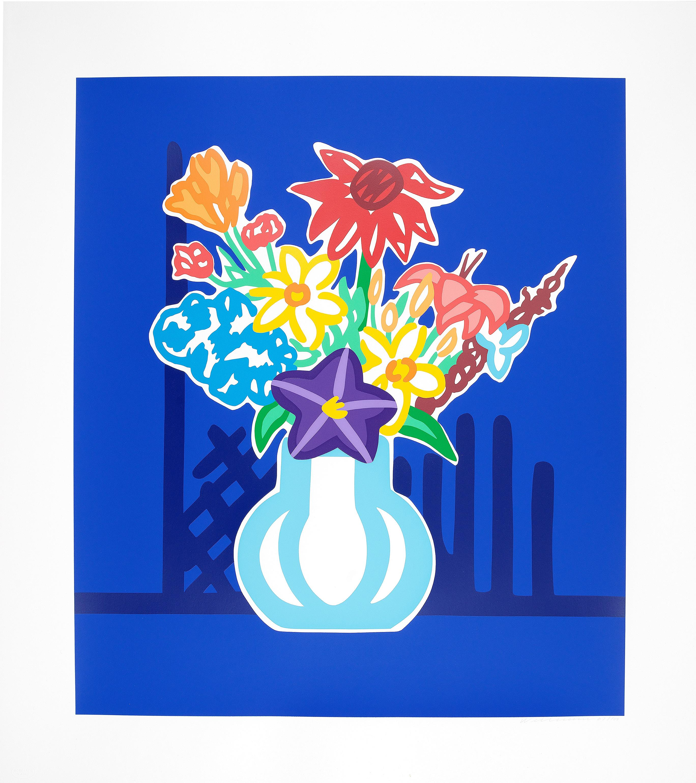 UNICEF Bouquet - Tom Wesselmann, Pop Art, Still-life, Print, Screenprint
