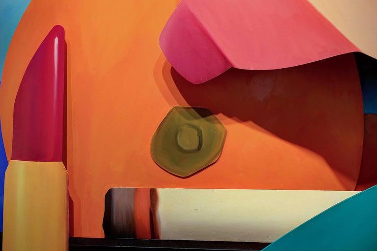 Bedroom Breast - Brown Nude Sculpture by Tom Wesselmann