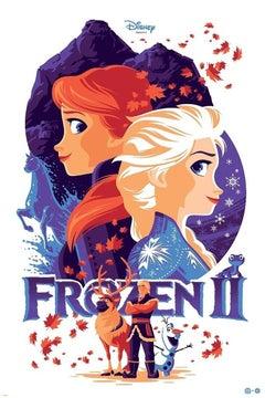 Tom Whalen - Frozen 2 - Contemporary Cinema Movie Film Posters