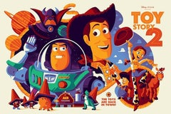Tom Whalen - Toy Story 2 - Contemporary Cinema Movie Film Posters