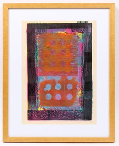 Untitled (Burnt Sienna and Pink)