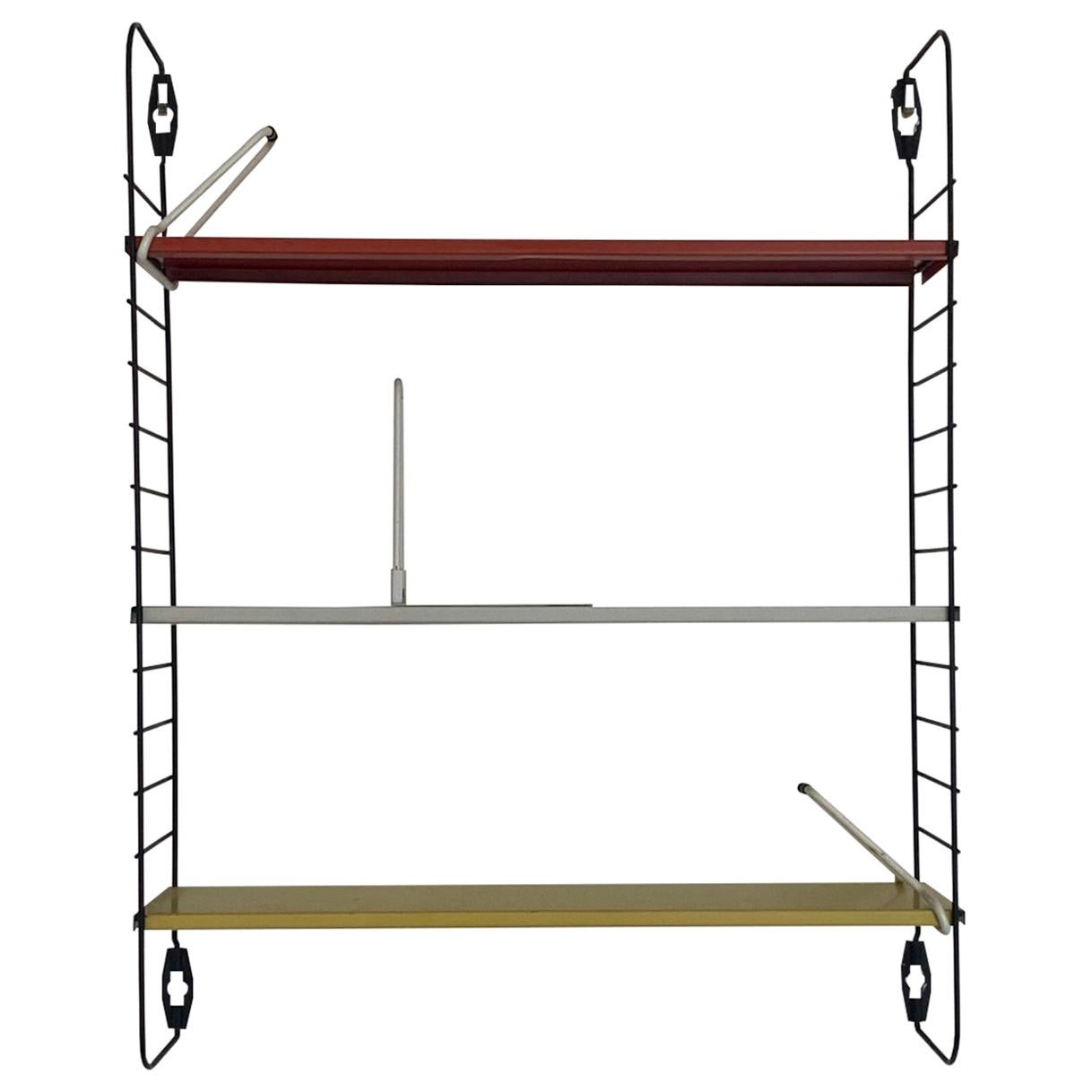 Tomado Midcentury Modular Wall Unit, Shelving System with Rare Bookstands