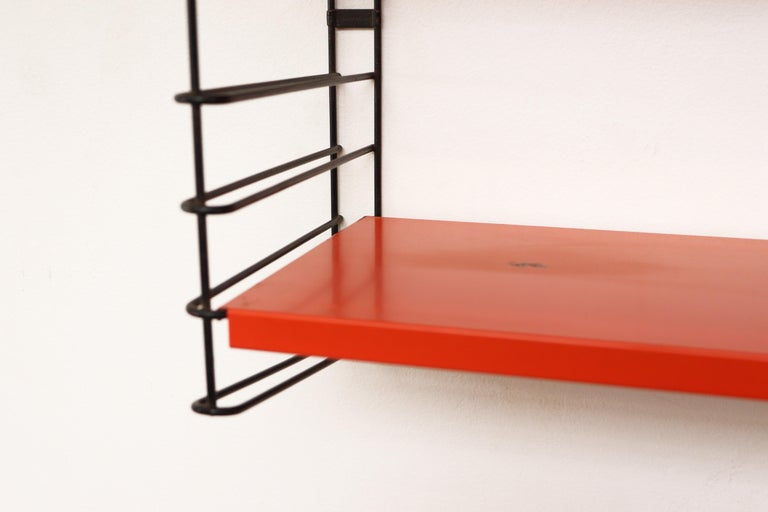 Dutch Tomado Short Two Section Industrial Shelving For Sale