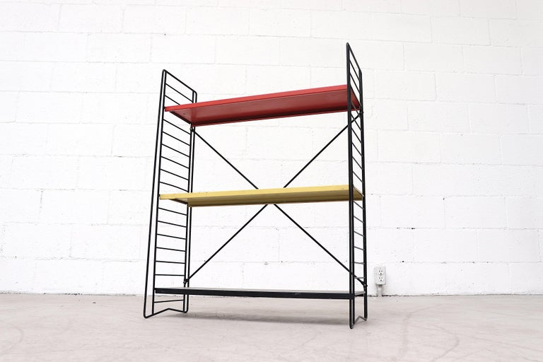 Tomado Single Standing Industrial Book Shelf In Good Condition For Sale In Los Angeles, CA