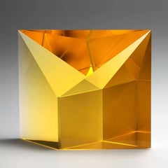 Gold Amber Reflection