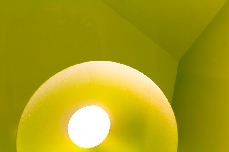 Green Kaleidoscope - Contemporary Sculpture by Tomas Brzon