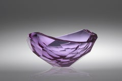 Purple Cut Bowl