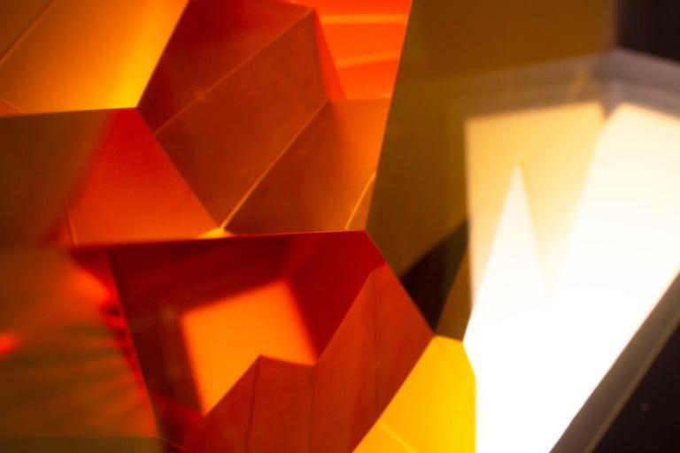 Yellow Passage - Sculpture by Tomas Brzon