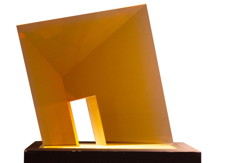 Yellow Passage - Contemporary Sculpture by Tomas Brzon